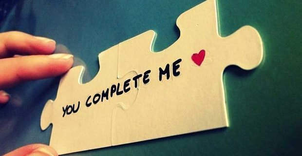 """Why """"You Complete Me"""" is BS"""