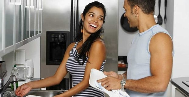 Study Shows Doing Chores Together May Improve Marriage