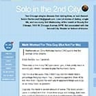 Solo in the 2nd City