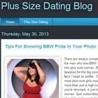 Plus-Size Dating Site