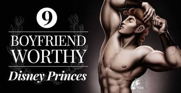 9 Hottest And Dateable Disney Princes