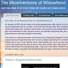 The Misadventures of Widowhood