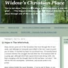 Widow's Christian Place