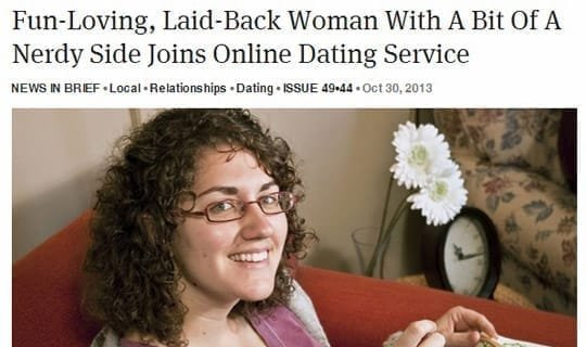 Fun-Loving, Laid-Back Woman With A Bit Of A Nerdy Side Joins Online Dating Service
