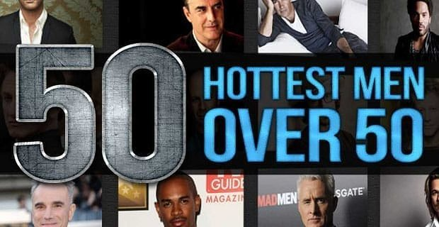 50 Hottest Men Over 50