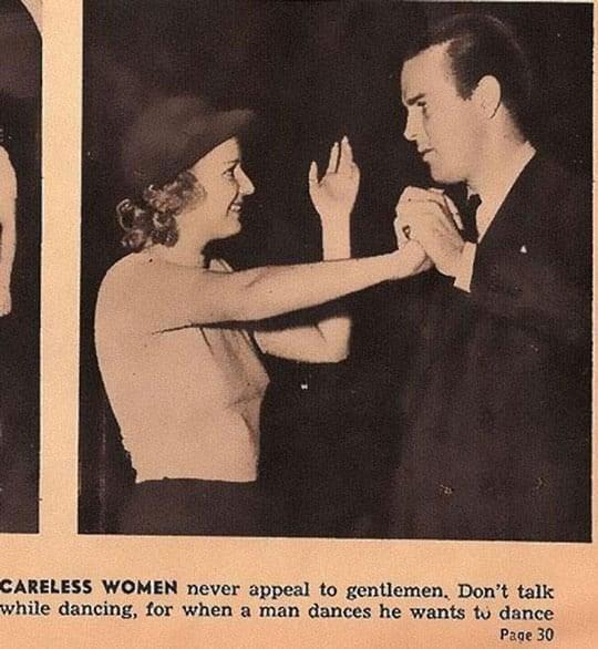 Careless women