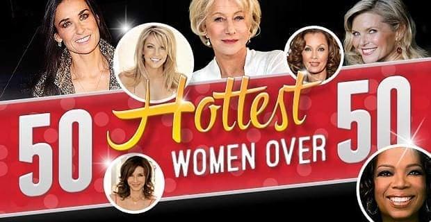 50 Hottest Women Over 50