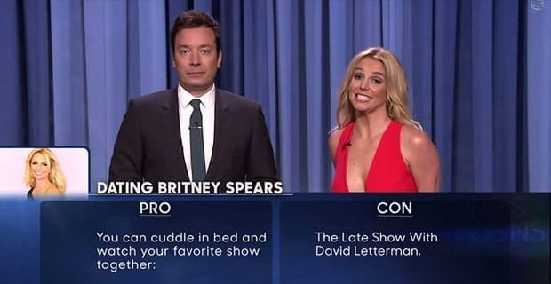 Britney Spears Is Now On Tinder Thanks To Jimmy Fallon