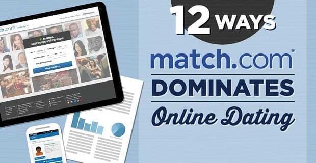 12 Ways Match Com Dominates Online Dating