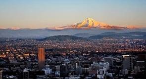 12. Portland, Oregon — 100,460 single men