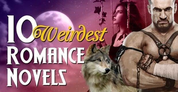 10 Weirdest Romance Novels