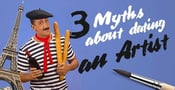 3 Myths About Dating an Artist