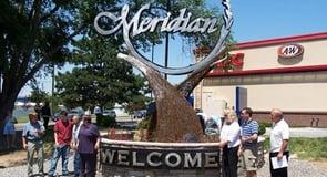 12. Meridian, Idaho — 31,766 singles