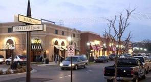 10. Rochester Hills, Michigan — 32,099 singles