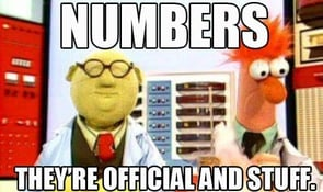 Sheer numbers