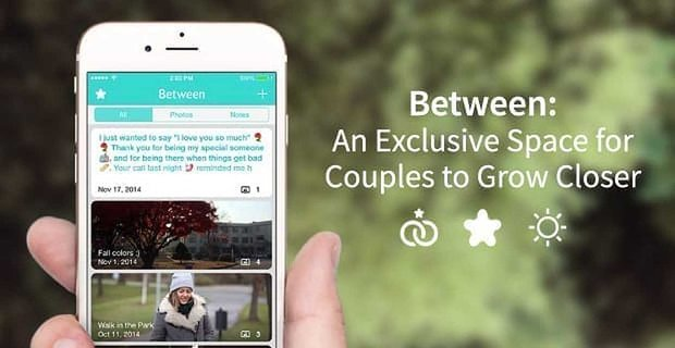 Between: An Exclusive Space for Couples to Grow Closer