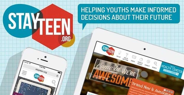 Stayteen Helping Youths Make Informed Decisions About Their Future