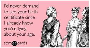 The Age Lie