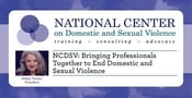 NCDSV: Bringing Professionals Together to End Domestic and Sexual Violence