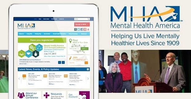 Mental Health America: Helping Us Live Mentally Healthier Lives Since 1909
