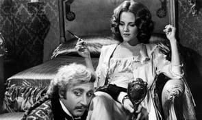 Photo of Gene Wilder and Madeline Kahn in Young Frankenstein