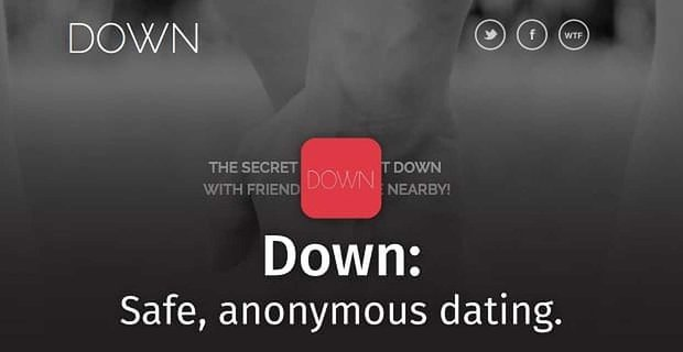 Down: The Dating App Taking the Shame Out of Getting Down