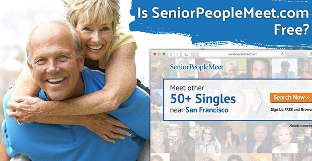 Is Seniorpeoplemeet Free