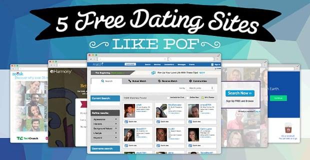 Free Dating Sites Like Pof