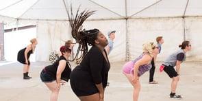 Photo of A-Camp dance class