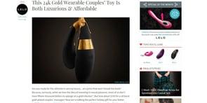 Screenshot of EmandLo.com's sex toy reviews
