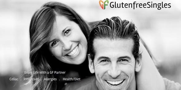 Screenshot of GlutenFreeSingles.com homepage
