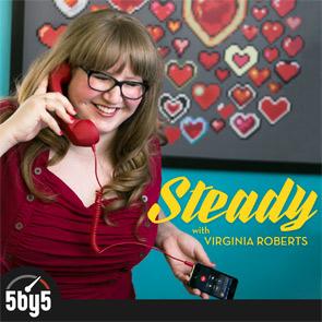 Photo of Virginia's Steady podcast