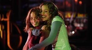 Photo of lesbian couple playing