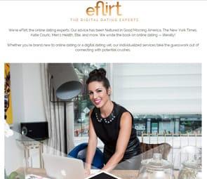 Screenshot of eflirtexpert.com