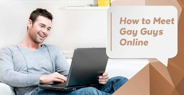 Meet Gay Guys Online