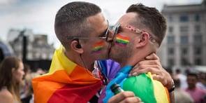 Photo of gay pride parade