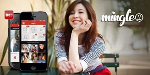 Screenshot of Mingle2 app
