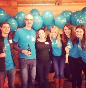 Photo of POF team 2