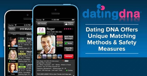 Dating Dna Offers Unique Matching Safety Measures