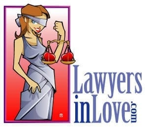 An image of the Lawyers in Love logo