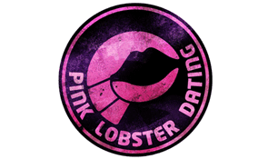 An image of the Pink Lobster Dating logo