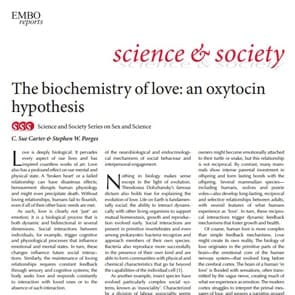 "Photo of ""The Biochemistry of Love: An Oxytocin Hypothesis"""