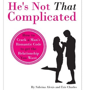 """A photo of the """"He's Not That Complicated"""" book"""