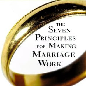 "Photo of ""The Seven Principles for Making Marriage Work"" book cover"