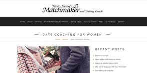 Screenshot of Julianne Cantarella's Date Coaching Page