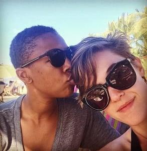 Photo of Lauren Morelli and Samira Wiley