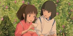 Haku and Chihiro from Spirited Away