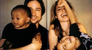 Photo of Brad Pitt and Angelina Jolie's family