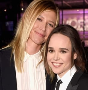 Photo of Ellen Page and Samantha Thomas
