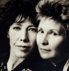 Photo of Lily Tomlin and Jane Wagner